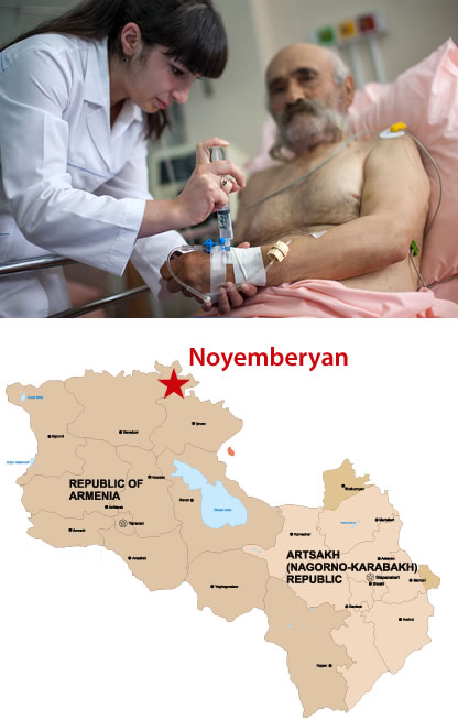 Help save life in Armenia